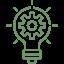 innovation icon - lightbulb